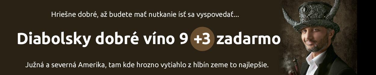 Diabolsky dobré víno 9+3 zadarmo