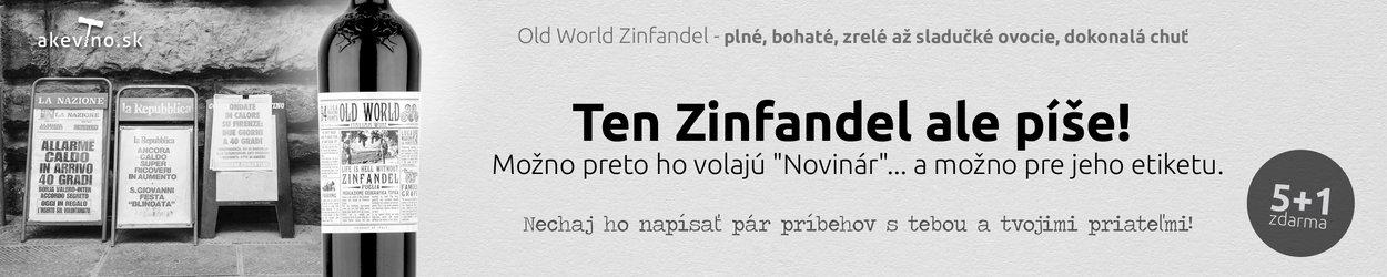 Old World Zinfandel 5+1 zadarmo