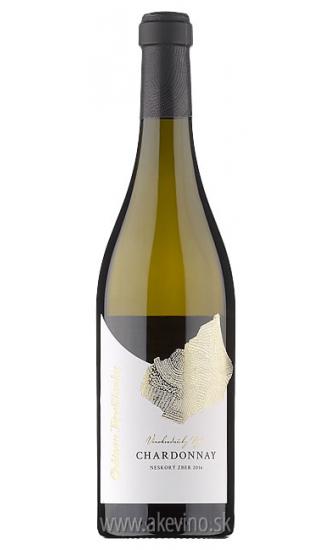 Chateau Topoľčianky Vinohradnícky výber Chardonnay 2016 neskorý zber