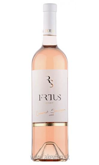 Frtus Winery Cabernet Sauvignon rosé 2017 akostné odrodové polosuché