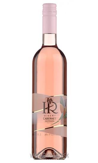 HR Winery Cabernet Sauvignon rosé 2018 polosladké