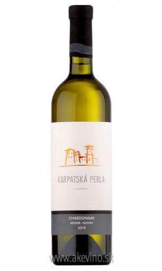 Karpatská perla Chardonnay Noviny 2016 výber z hrozna barrique