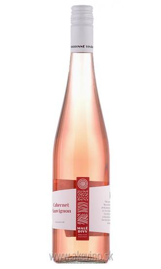 Malé divy Cabernet sauvignon rosé 2018 polosuché
