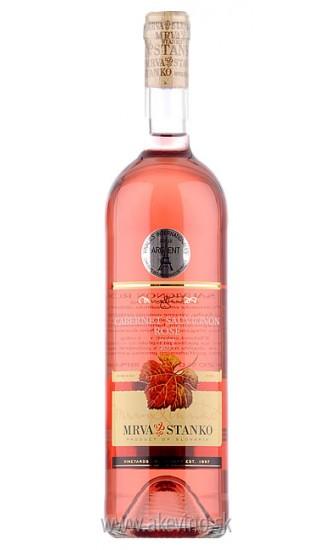 Mrva & Stanko Cabernet Sauvignon rosé 2017 akostné odrodové suché