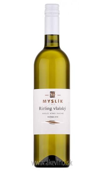 Myslík Winery Rizling vlašský 2018