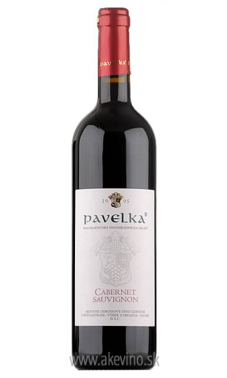 Pavelka Cabernet Sauvignon 2016 výber z hrozna
