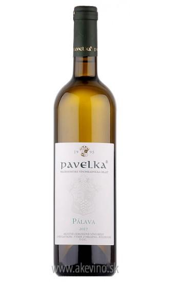 Pavelka Pálava 2017 výber z hrozna polosuché