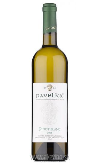 Pavelka Pinot Blanc 2018 výber z hrozna
