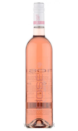 Pavelka Rosé Cuvée 2017 neskorý zber