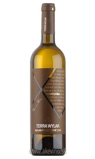 Terra Wylak Rizling rýnsky 2016 akostné odrodové