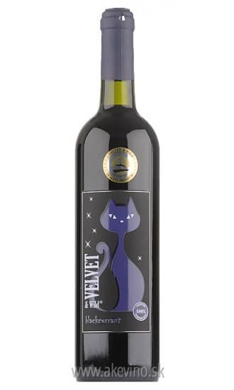 Velvet & Wild Čierna ríbezľa