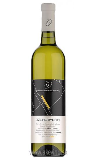 Víno Dudo Rizling rýnsky 2018 výber z hrozna