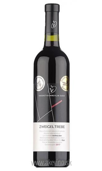Víno Dudo Zweigeltrebe 2017 neskorý zber