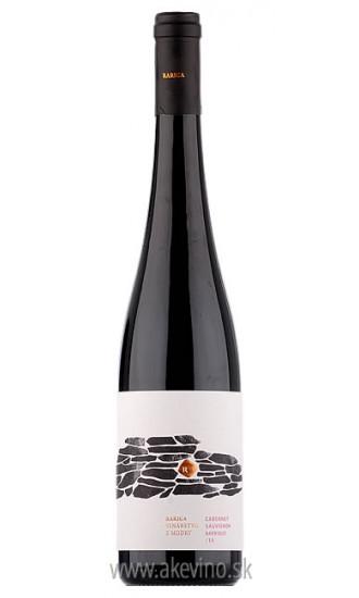 Víno Rariga Cabernet Sauvignon barrique 2015 akostné odrodové