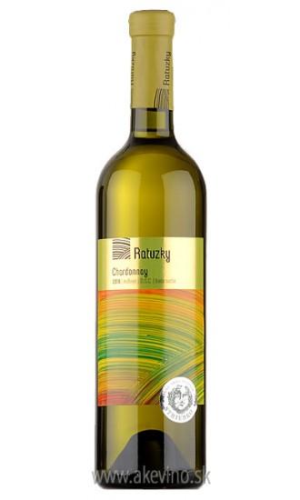 Víno Ratuzky Chardonnay 2017 neskorý zber