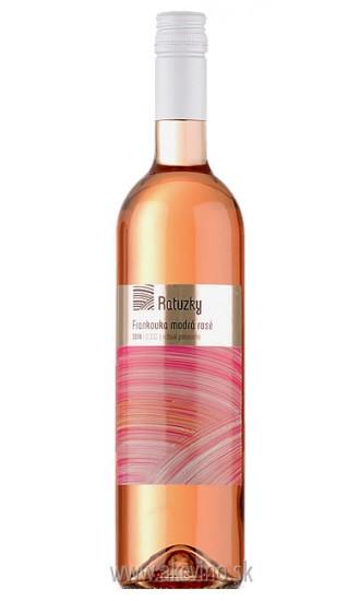 Víno Ratuzky Frankovka modrá rosé 2017