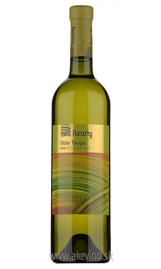 Víno Ratuzky Müller-Thurgau 2018 polosuché