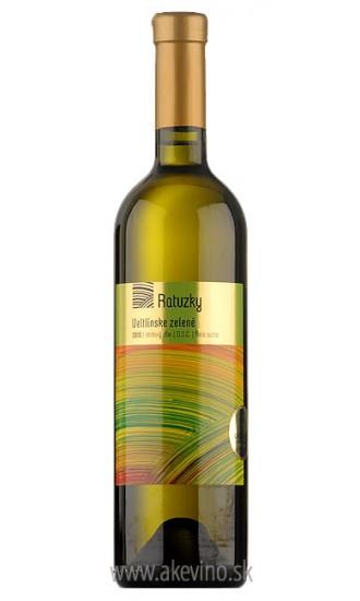 Víno Ratuzky Veltlínske zelené 2017 neskorý zber