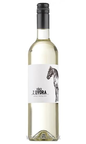 Víno z dvora Rizling + Rizling 2016