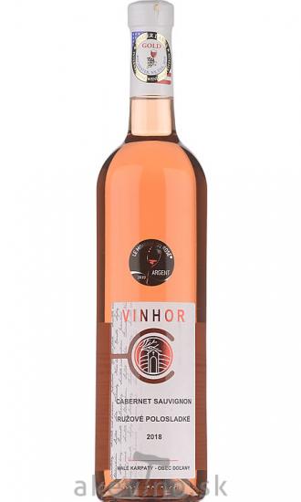Vinhor Cabernet Sauvignon rosé 2018 polosladké