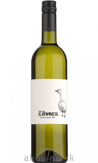 Víno z dvora Pesecká Leánka 2019