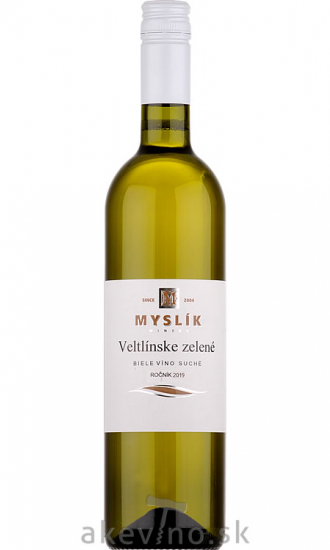 Myslík Winery Veltlínske zelené 2019