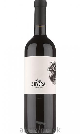 Víno z dvora Alibernet 2017