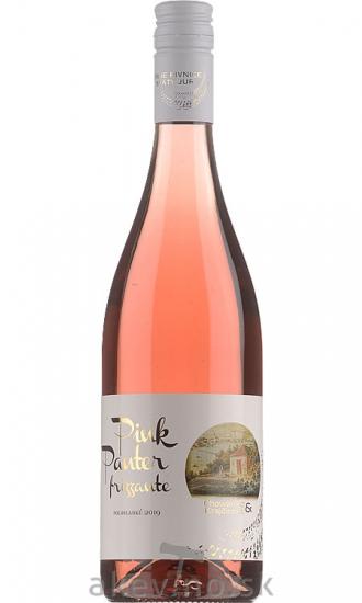 Chowaniec & Krajčírovič Pink Panter rosé 2019 frizzante polosladké