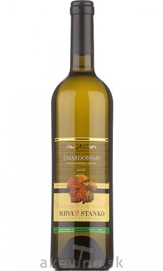 Mrva & Stanko Chardonnay 2018 výber z hrozna (Čachtice)