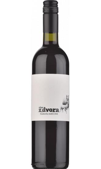 Víno z dvora Frankovka modrá 2018