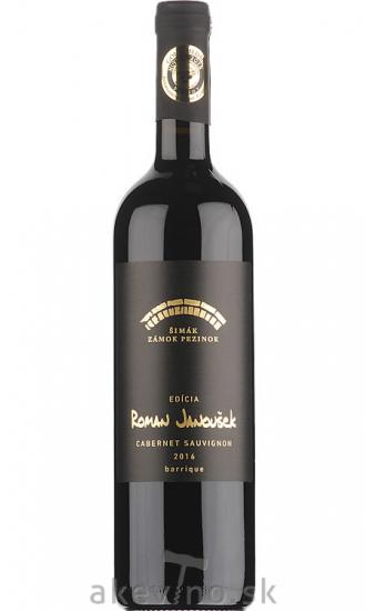 Zámocké vinárstvo Šimák Pezinok Edícia Roman Janoušek Cabernet sauvignon 2016