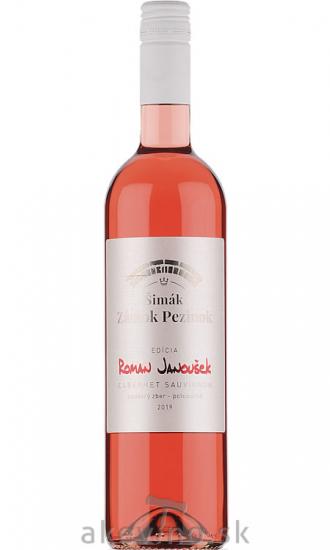 Zámocké vinárstvo Šimák Pezinok Edícia Roman Janoušek Cabernet sauvignon rosé 2019 neskorý zber polosuché