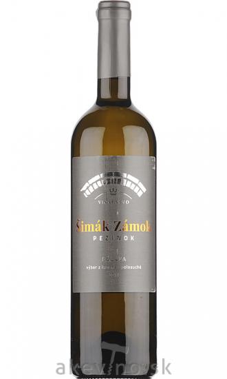 Zámocké vinárstvo Šimák Pezinok Pálava 2019 výber z hrozna polosuché