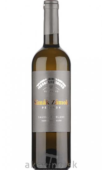 Zámocké vinárstvo Šimák Pezinok Sauvignon blanc 2019 neskorý zber