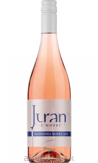 Juran z Modry Frankovka modrá rosé 2019