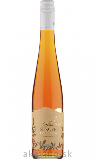 Miluron Šípkové víno sladké