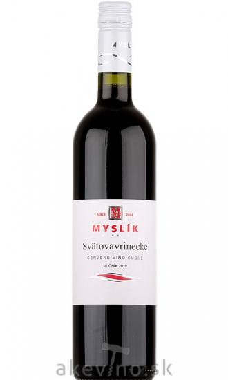 Myslík Winery Svätovavrinecké 2019