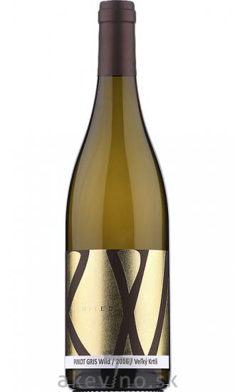Repa Winery Pinot Gris WILD Limited 2016 akostné odrodové