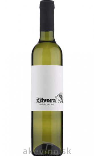 Víno z dvora Tramín červený 2019 hrozienkový výber sladké 0.5L