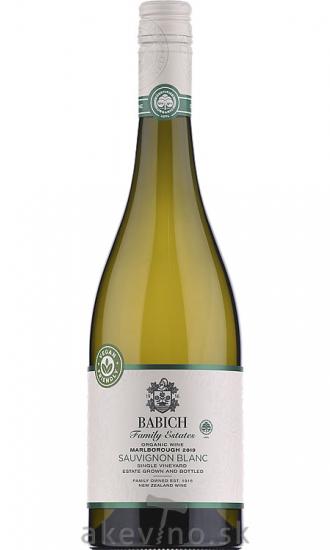 Babich Sauvignon Blanc Organic Headwaters 2019