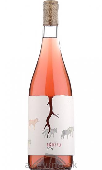 Magula rodinné vinárstvo Ružový vlk 2019