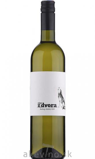 Víno z dvora Rizling vlašský sur-lie 2019 výber z hrozna