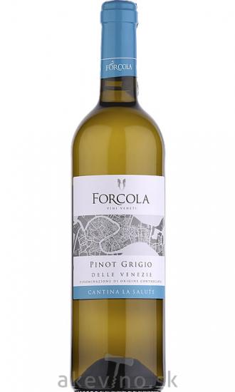 Cantina La Salute Forcola Pinot Grigio delle Venezie 2018 (fľaša bordeaux)