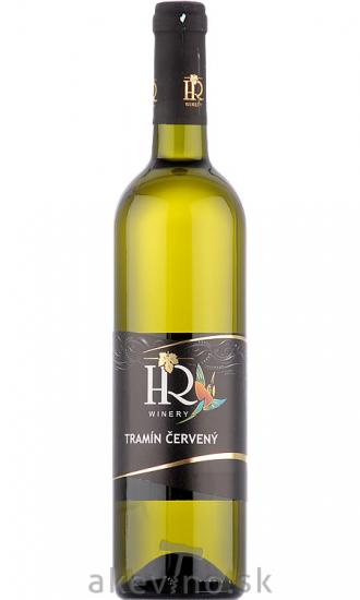 HR Winery Tramín červený 2019 polosladké