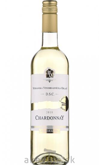 PD Mojmírovce Chardonnay 2018 akostné odrodové