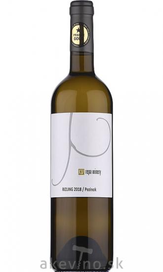 Repa Winery Rizling 2018 akostné značkové