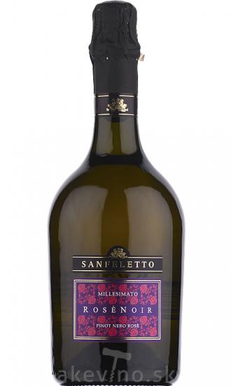 Sanfeletto Rosénoir Pinot Nero rosé Spumante Millesimato extra brut