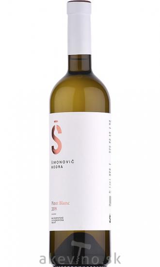 Šimonovič Pinot blanc 2019