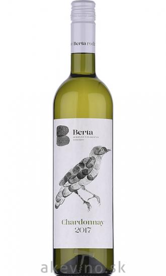Vinárstvo Berta Chardonnay 2017 akostné odrodové
