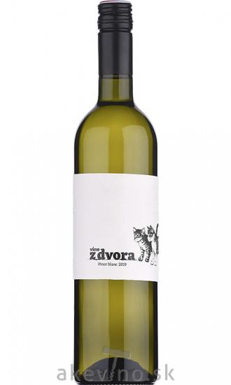 Víno z dvora Pinot Blanc 2019 bobuľový výber sladké